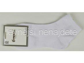 Dámské bavlněné ponožky bílé