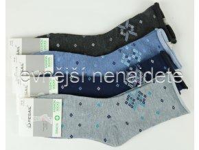 Dámské bavlněné zdravotní ponožky L33W 3 páry