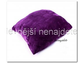 polštářek fialový