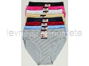 Bavlněné kalhotky s krajkou a srdíčky