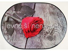Prostírání PVC růže 40 x 28 cm