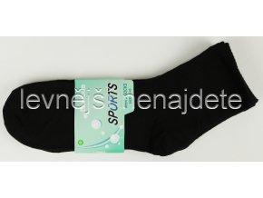 Pánské bambusové ponožky sports černé 3 páry