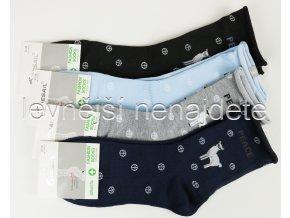 Dámské bavlněné zdravotní ponožky L35W 3 páry