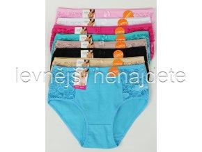 Bavlněné kalhotky s krajkou vz.711