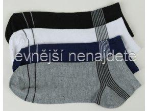 Pánské kotníkové ponožky bar 3 páry (sport)
