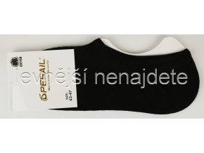 Bavlněné pánské krátké ponožky černé