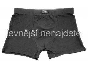 Bavlněné boxerky nadměrné černé