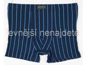 Pánské boxerky tmavě modré s proužkem