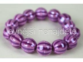 Náramek pružný fialový