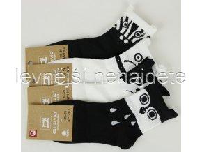 Dámské bavlněné  ponožky NP03
