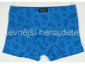 Bavlněné boxerky modré vzor 563