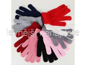 Dámské pletené rukavice barevné