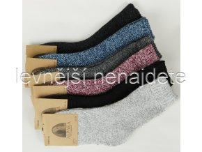 Dámské vlněné termo ponožky  ALPAKA