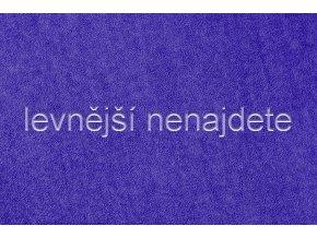 Froté prostěradlo modré  90x200 cm