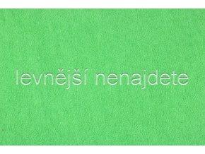 Froté prostěradlo hráškově zelené 90x200 cm