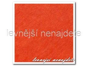 Froté prostěradlo oranžové 140x200 cm
