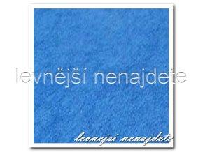 Froté prostěradlo modré 160x200 cm
