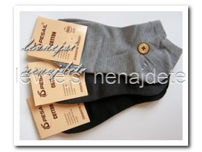 Dámské zdravotní kotníkové ponožky 3 páry