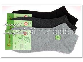 Pánské zdravotní kotníkové ponožky 3 páry