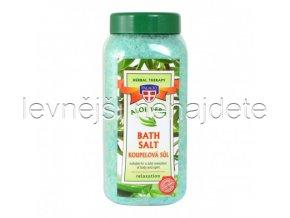 Aloe vera koupelová sůl, 900g