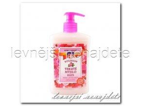Tekuté mýdlo růže, 500ml