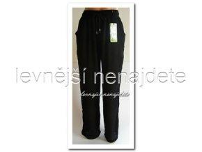 Dámské bambusové kalhoty černé