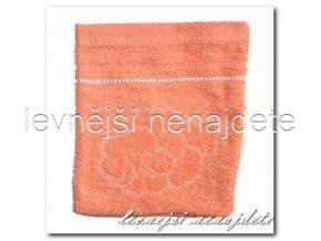 Froté žínka oranžová, 15 x 23