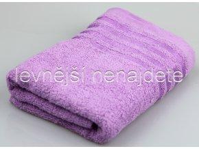 Froté ručník levandulový 40 x 90 cm