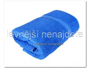 Froté ručník modrý 40 x 90 cm