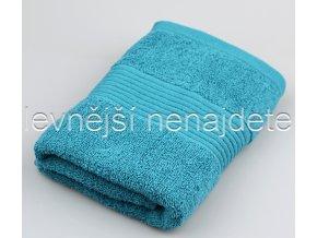 Froté ručník tyrkysový 40 x 90 cm