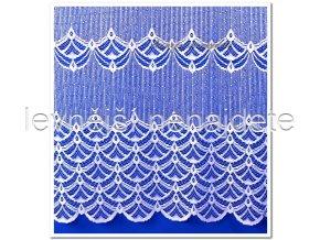 Záclona PAUČINA NA HRUBÉM 180 cm