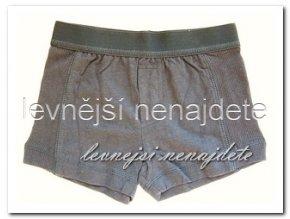 Chlapecké bavlněné boxerky tm. modré