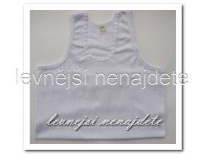 Dámská bavlněná košilka bílá