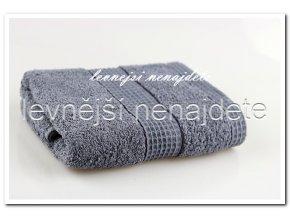 Froté ručník šedý 40 x 90 cm