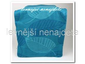 Fleecová deka - listy 150 x 200