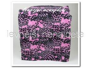 Fleecová deka - vzor 150 x 200