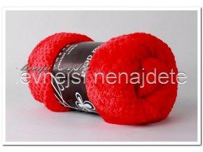 Deka mikrožakar červená 200 x 230