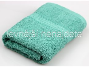 Froté ručník zelený 40 x 90 cm