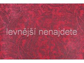 KAŠMÍROVÁ ŠÁLA BORDÓ 185 x 70 cm