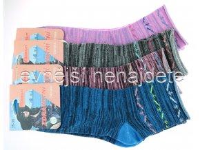 Dámské zdravotní bavlněné ponožky melír 3 páry