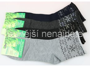 Pánské zdravotní bambusové ponožky 3 páry