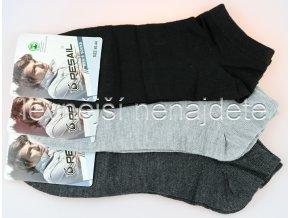 Pánské kotníkové ponožky 3 páry