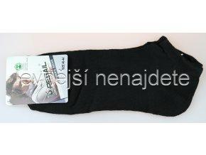 Pánské kotníkové ponožky černé