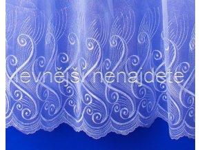 Voálová záclona s výšivkou MARIKA 250 cm