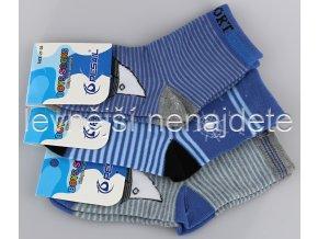 Chlapecké bavlněné ponožky 3 páry