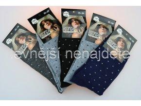 Dámské ponožky vzory 5 kusů