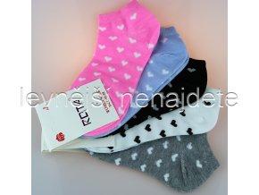 Dámské kotníkové bavlněné ponožky srd 3 páry