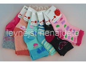 Dívčí bavlněné ponožky ZC 3 páry