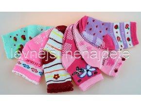 Dětské ponožky AM 3 páry - holka