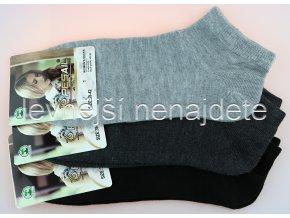 Dámské kotníkové ponožky 3 páry